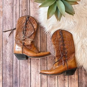 Vintage LONE STAR Western Boots